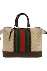 Gucci Vintage Monogram Travel Bag - Lyst
