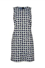 Jaeger Dogstooth Shift Dress - Lyst