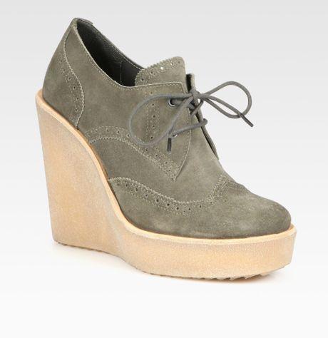 Designer Womens Oxfords Platform Wedges Women Shoes