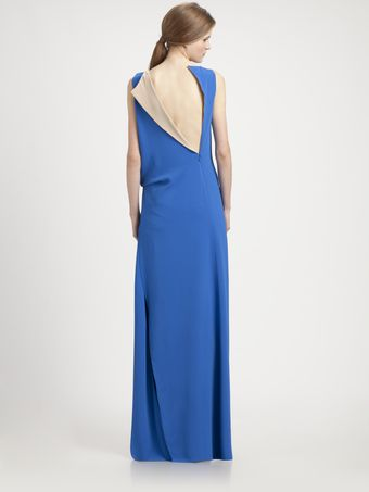 Reed Krakoff Boatneck Twist Gown - Lyst
