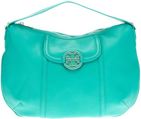 Tory Burch Tote Bag in Green (blue) - Lyst