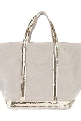 Vanessa Bruno Tote Bag with Sequin Embellishment - Lyst