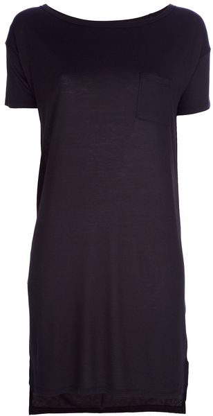 Alexander Wang T-shirt Dress - Lyst