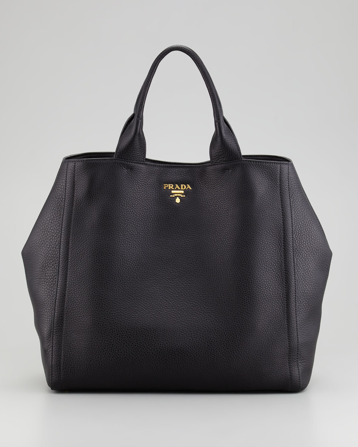 Lyst Prada Large Tote Bag In Black