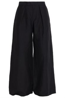Y-3 Mix Linen Wide Pants - Lyst