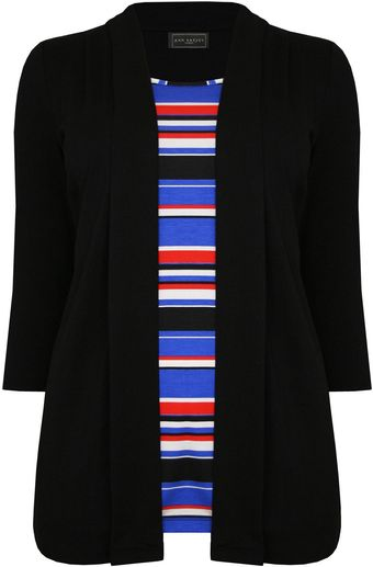Ann Harvey Striped Inner 2in1 - Lyst