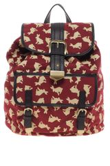 Asos Rabbit Print Backpack - Lyst