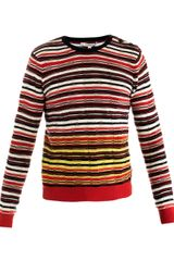 Carven Stripe Sweater - Lyst