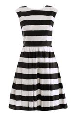 Dolce & Gabbana Wide Stripe Sun Dress - Lyst
