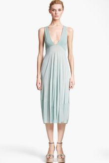 Donna Karan New York Collection Jersey Crepe Dress - Lyst