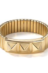 Rebecca Minkoff Studded Watch Band Bracelet - Lyst