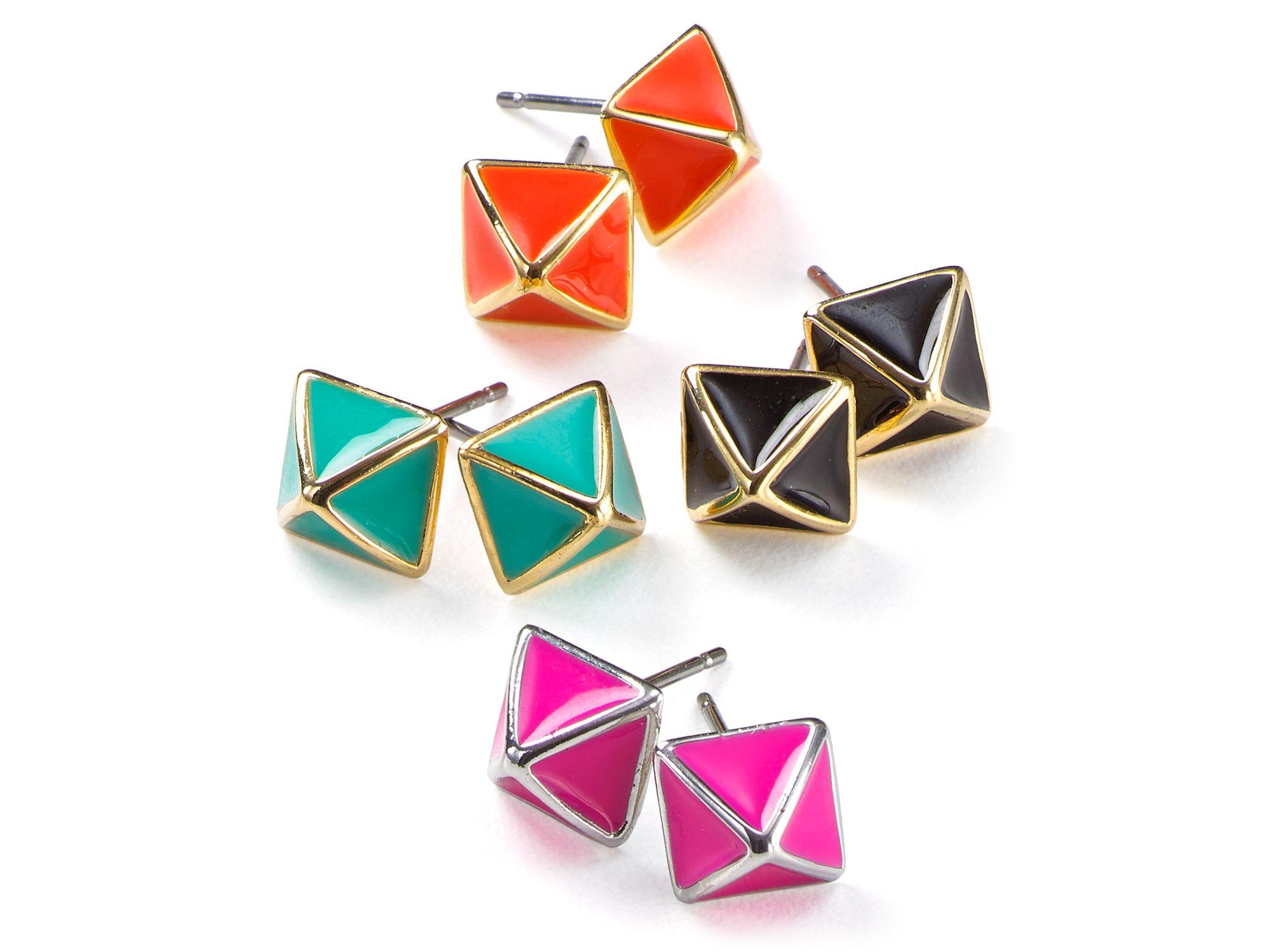 Diamond Bar Earrings Australia