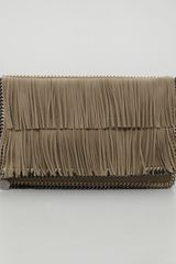 Stella McCartney Falabella Foldover Clutch Bag - Lyst
