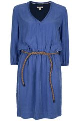 Burberry Brit Belted Dress - Lyst