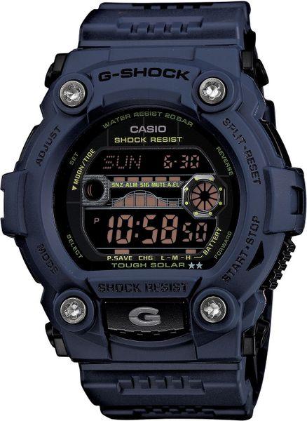 Casio gshock solar atomic g rescue watch in navy lyst