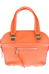 Chloé Neon Shoulder Bag - Lyst