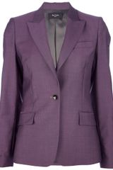 Paul Smith Single Button Blazer - Lyst