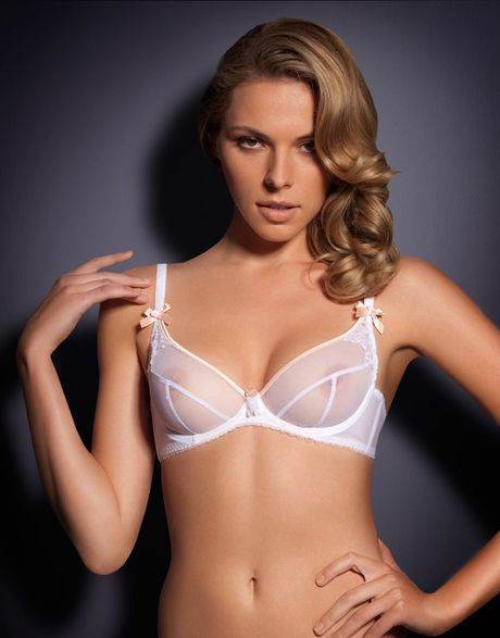 Agent Provocateur Lucienne Bra In Pink Lyst