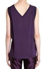 Ann Demeulemeester Gathered Tie Waist Top - Lyst