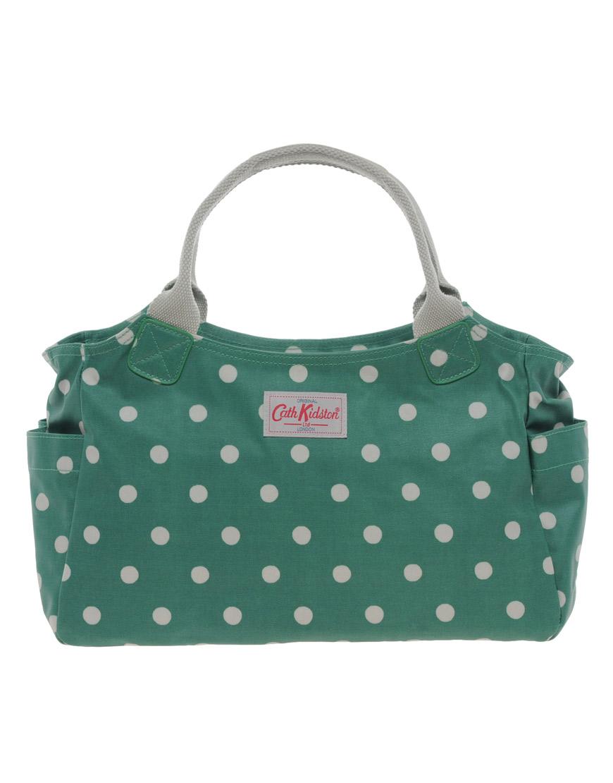 Lyst Cath Kidston Shoulder Bag In Green