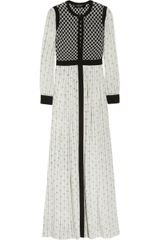 Isabel Marant Melissande Printed Silk-crepe Maxi Dress - Lyst