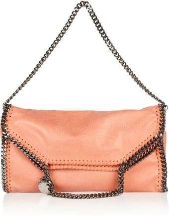 Stella McCartney Convertible Faux Leather Shoulder Bag - Lyst