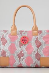 Tory Burch Ella Mini Tote Bag - Lyst