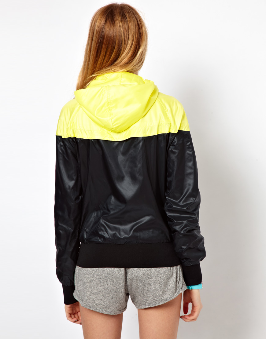 Lyst - Nike Wind runner Jacket in Yellow 68a7d83170