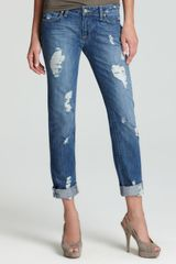 Paige Jeans Jimmy Jimmy Straight in Riley Destruction - Lyst