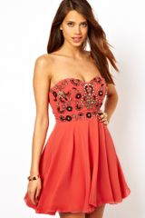 Tfnc Prom Dress with Jewel Bustier - Lyst