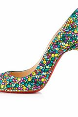 Christian Louboutin ''Fifi Strass'' in Multicolor (multi) - Lyst