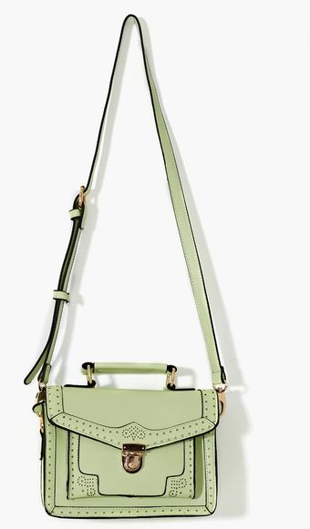Nasty Gal Blair Satchel Mint - Lyst