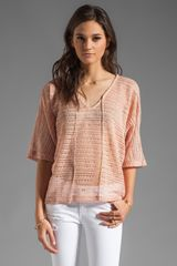 Sanctuary Blanket Tee - Lyst