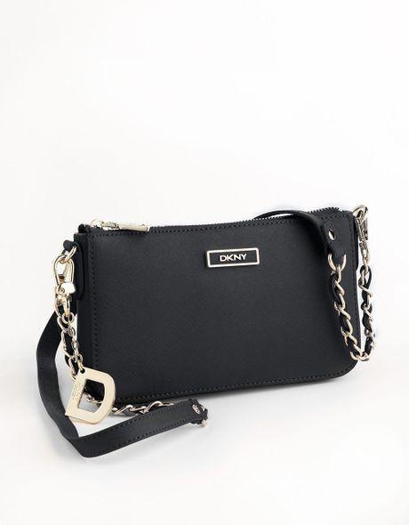 Dkny Leather Crossbody Bag In Black Lyst