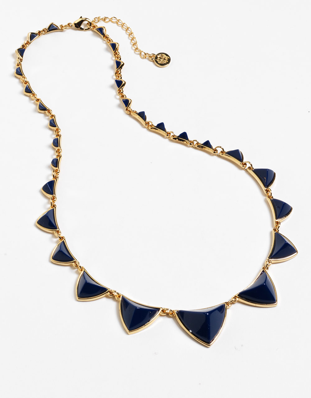 house of harlow pyramid necklace in gold lyst