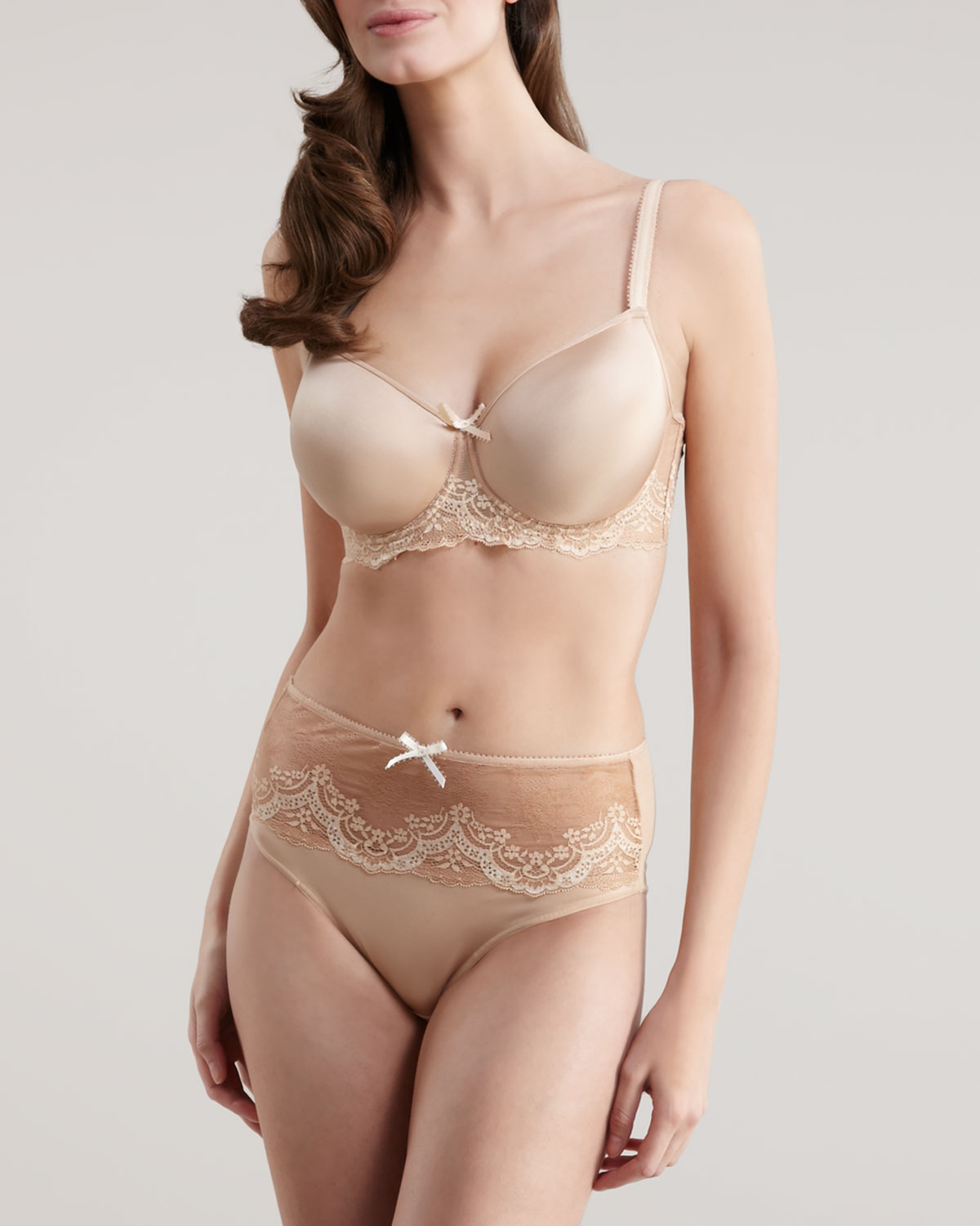 74c4dfe7d7 Lyst - Le Mystere Dream Luxe Tisha Bra in Natural