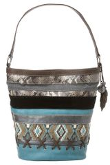Nine West Mix Match Hobo - Lyst