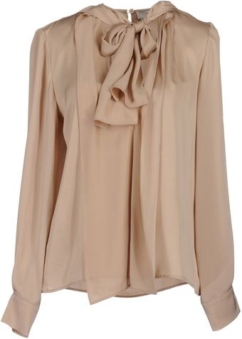 Stella McCartney Bow Blouse - Lyst