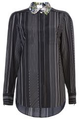 3.1 Phillip Lim Pleated Shoulder Shirt - Lyst