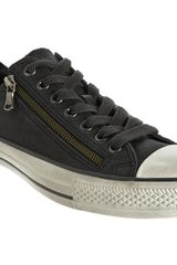 Converse Double Zip Chuck Taylor Low Top Ox - Lyst