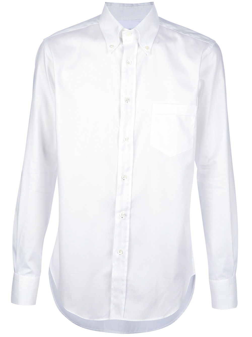 Etro camargue shirt in white for men lyst for Etro men s shirts