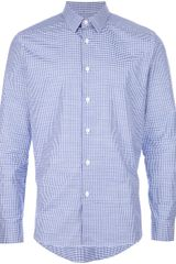 Paul Smith Classic Checked Shirt - Lyst