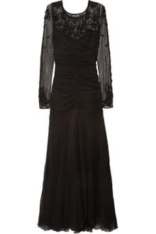 Temperley London Arabella Silk-chiffon and Tulle Gown - Lyst