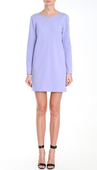Tibi Ponte Shift Dress - Lyst