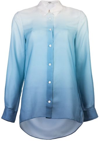 Acne Pat Degrade Blouse - Lyst
