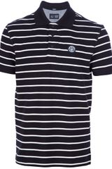 Armani Jeans Striped Polo Shirt - Lyst