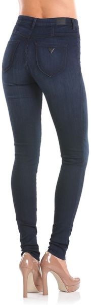 Guess Iconic Skinny Ultra Marine Jeans in Blue