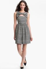 Kate Spade Vivien Stripe Fit Flare Dress - Lyst