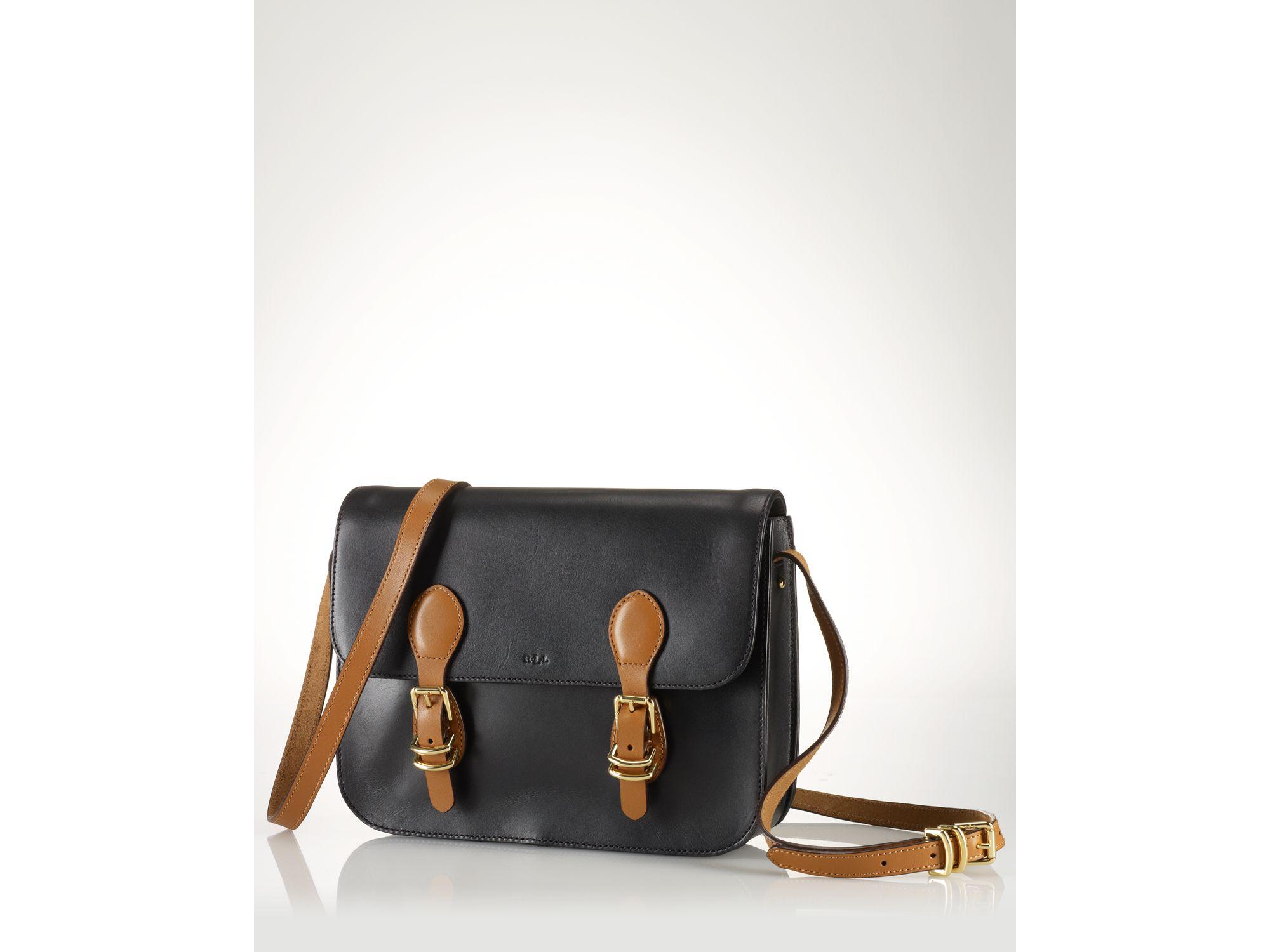 054a7fee60 Lyst - Lauren By Ralph Lauren Messenger Bag Bexley Heath Medium in Black