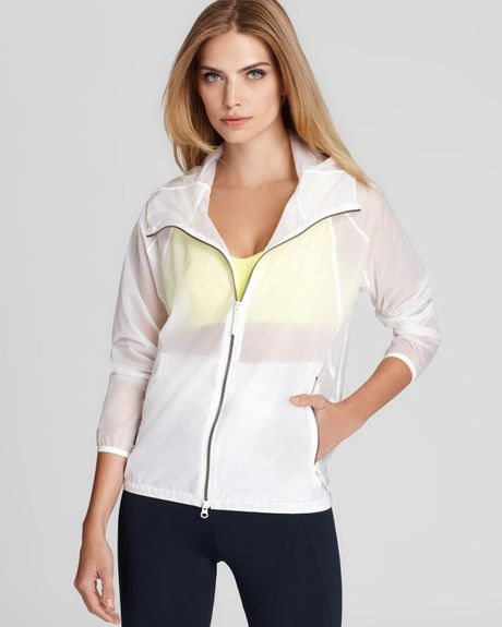 Theory 38 Jacket Soak Athletic in White